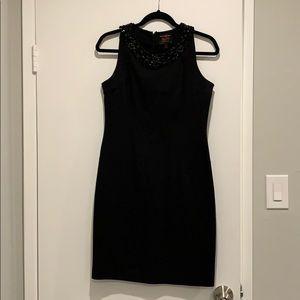 BR Lauren Scott collection black jeweled dress